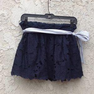 Abercrombie & Fitch Skirts - Women's Abercrombie and Fitch navy blue skirt